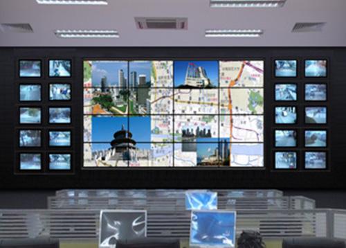 无缝液晶拼接屏应用于交通指挥